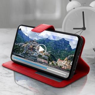 Flip Stand Cover Brieftasche & Standfunktion für Samsung Galaxy S10e - Rot - Vorschau 4