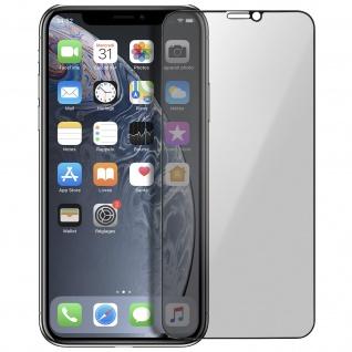 Premium Schutzfolie für Apple iPho, iPhone 8 mit Blickschutz - Weiß