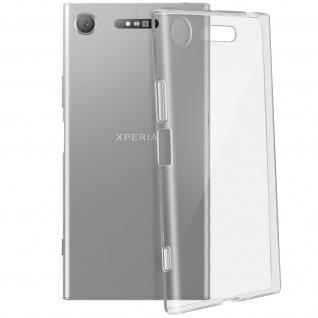 Sony Xperia XZ1 Ultra-Clear Schutzhülle aus Silikon - Flexibel