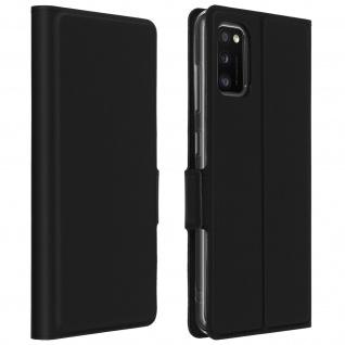 Klappetui mit Kartenfach & Standfunktion Samsung Galaxy A41 - Schwarz