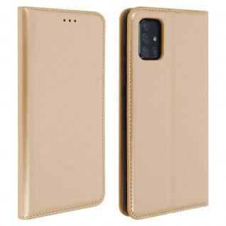 Klappetui mit Kartenfächern & Standfunktion Samsung Galaxy A71 - Gold