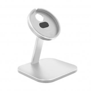 Magsafe iPhone Charger Desk Mount, Aluminium Handyhalterung � Silber