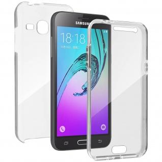 Schutzhülle für Vorder- und Rückseite für Samsung Galaxy J3 ? Transparent