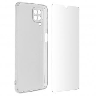 360° Schutz-Set für Samsung Galaxy A12: Hülle + Displayschutzfolie â€? Transparent