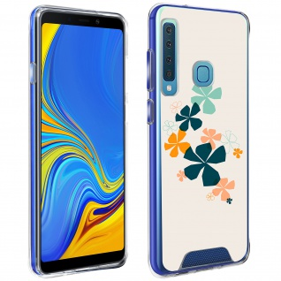 Handyhülle für Galaxy A9 2018, Made in France ? Kleeblatt Design