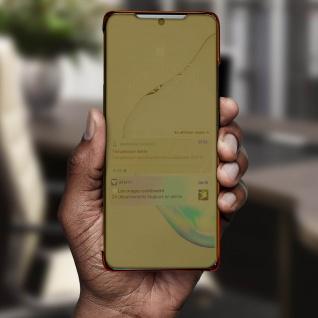 Mirror Klapphülle, Spiegelhülle für Samsung Galaxy Note 10 Lite - Gold - Vorschau 4
