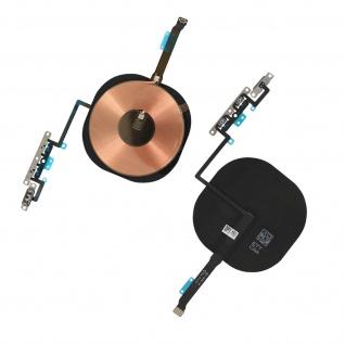 Schwarzer Iphone 11 Pro Max QI Ladeempfänger mit Lautsstärke Flexkabel