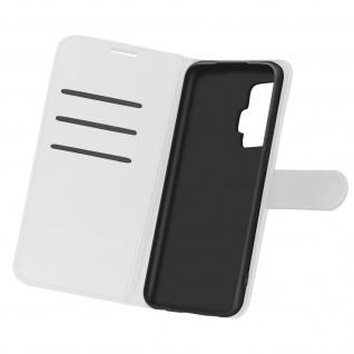 Kunstlederetui, Handyhülle mit Geldbörse für Vivo X51 5G ? Weiß