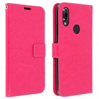 Flip Stand Cover Brieftasche & Standfunktion für Xiaomi Redmi 7 - Rosa