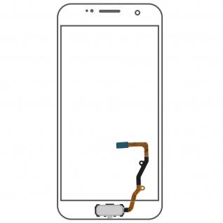 Ersatzteil Haupttaste mit Flexkabel für Samsung Galaxy S7 Edge Weiß - Vorschau 1