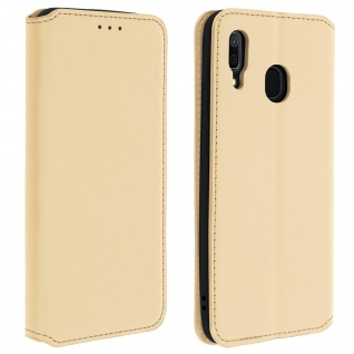 Kunstleder Cover Classic Edition Samsung Galaxy A30 - Gold