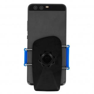 Kfz-Halterung für Smartphones Saugnapf + Lüftungshalterung - Blau - Vorschau 5