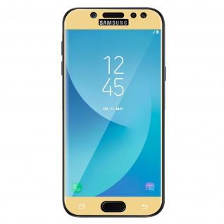 9H Härtegrad kratzfeste Glas-Displayschutzfolie für Galaxy J5 2017 - Gold