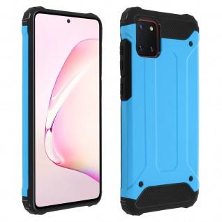 Defender II schockresistente Schutzhülle Samsung Galaxy Note 10 Lite - Blau