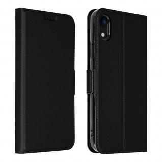 Flip Cover, Klappetui mit Kartenfach & Standfunktion Apple iPhone XR - Schwarz