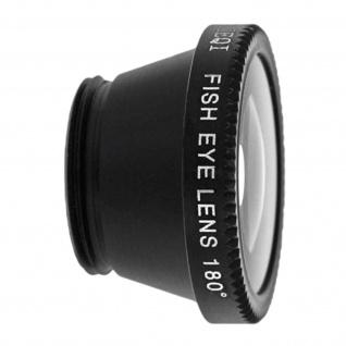 3in1 Kamera-Objektiv-Set Fisheye + Makro-Objektiv + Weitwinkel
