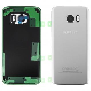 Original Samsung Akkufachdeckel für Samsung Galaxy S7 Edge - Silber
