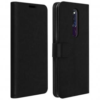 Flip Stand Case Brieftasche & Standfunktion Oppo F11 Pro ? Schwarz
