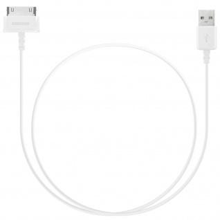Original Samsung ECC1DP0U USB Ladekabel für Samsung Tablets - Weiß