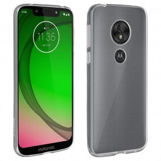 Motorola Moto G7 Play Schutzhülle Backcover Silikon Second Skin - Transparent