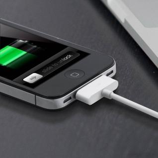 Apple 30-polig auf USB Kabel 2.1A Inkax - 1M Aufladen und Synchronisieren - Vorschau 4