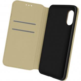 Kunstleder Cover Classic Edition, Klappetui für Samsung Galaxy Xcover 5 ? Gold