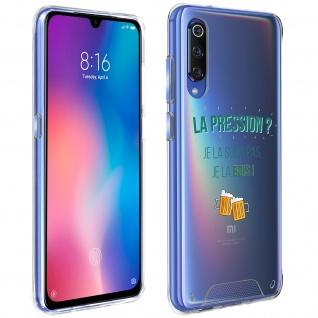 "Handyhülle für Xiaomi Mi 9, Made in France ? "" La pression"" Design"