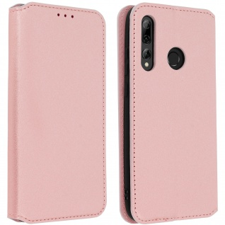 Kunstleder Cover Classic Edition Huawei P Smart plus 2019 - Rosegold