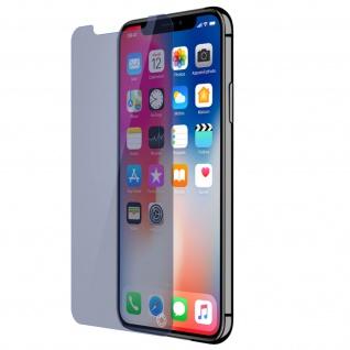 Force Glass Displayschutzfolie iPhone X Blaulicht-Filter - Lebenslange Garantie - Vorschau 2