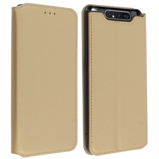 Kunstleder Cover Classic Edition Samsung Galaxy A80 - Gold