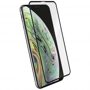 Voll-Bildschirmschutz Rand Schwarz, Full Cover für Apple iPhone XS Max