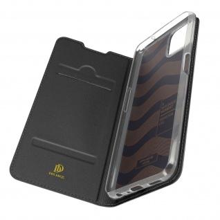 Klappetui mit Kartenfach & Standfunktion Oppo A73 5G ? Schwarz