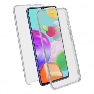 Schutzhülle für Samsung Galaxy A41, Vorder- + Rückseite ? Transparent