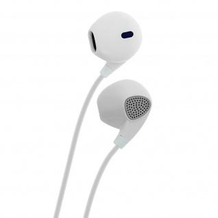 Wave Concept in-ear Kopfhörer mit Fernbedienung, ergonomisches Design ? Weiß