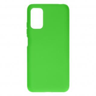 Silikon Handyhülle für Xiaomi Redmi Note 10 5G / Poco M3 Pro, Soft Touch ? Grün