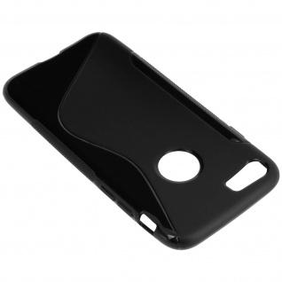 Apple iPhone 7 / 8 / SE 2020 S-Line Schutzhülle aus Silikon - Schwarz