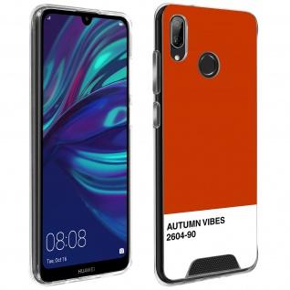 Handyhülle für Huawei Y7 2019, Made in France ? Autumn Vibes Design