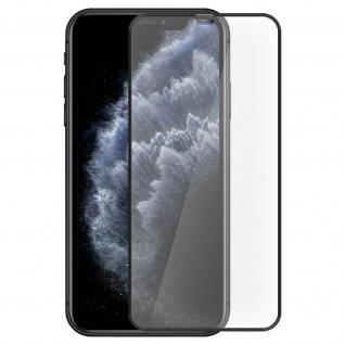 Tiger Glass Displayschutzfolie by Muvit für iPhone 11 Pro Max - Rand Schwarz