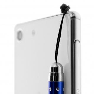 Ausziehbarer Eingabestift für Touchscreen 3.5 Klinkenstecker ? Blau - Vorschau 4