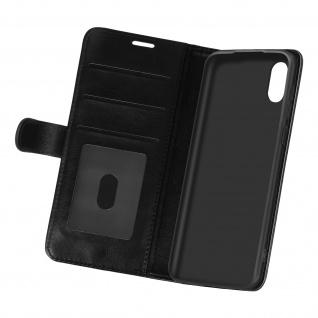 Flip Stand Case Brieftasche & Standfunktion für Samsung Galaxy A02 ? Schwarz