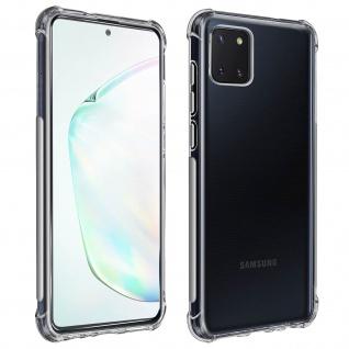 Premium Schutz-Set Galaxy Note 10 Lite Schutzhülle + Schutzfolie - Transparent