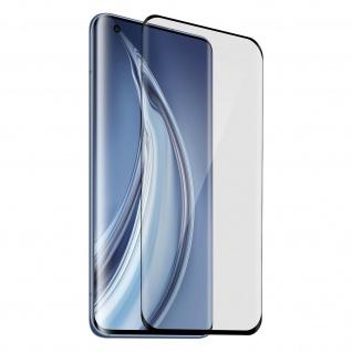 Voll-Bildschirmschutz, Full Cover für Xiaomi Mi 10 / Mi 10 Pro - Rand Schwarz