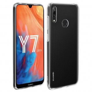 Huawei Y7 2019 Backcover, Original Huawei Schutzhülle - Transparent