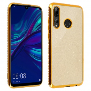 Schutzhülle, Glittery Case für Huawei P Smart 2019/ P Smart Plus 2019 - Gold