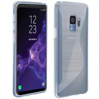 Samsung Galaxy S9 S-Line Schutzhülle aus Silikon - Frosted Weiß