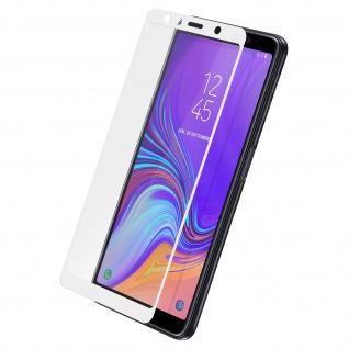 9H kratzfeste bruchsichere Glas-Displayschutzfolie für Galaxy A7 2018 - Weiß