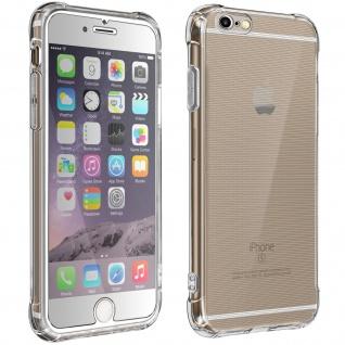 360° Schutz-Set für Apple iPhone 6/6S : Hülle + Displayschutzfolie ? Transparent