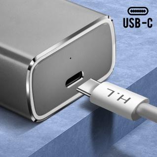 Lightning / USB-C Power Delivery 18W Lade- und Synchronisationskabel ? Weiß - Vorschau 5