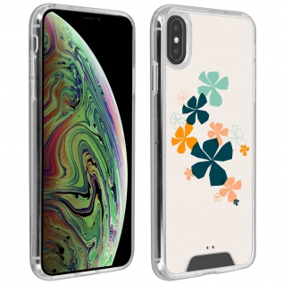 Handyhülle für Apple iPhone XS Max, Made in France ? Kleeblatt Design