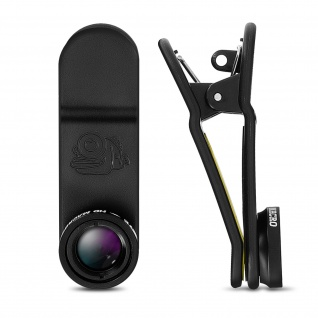 Black Eye 15x Zoom Kamera Objektiv für Smartphones/Tablets - Schwarz